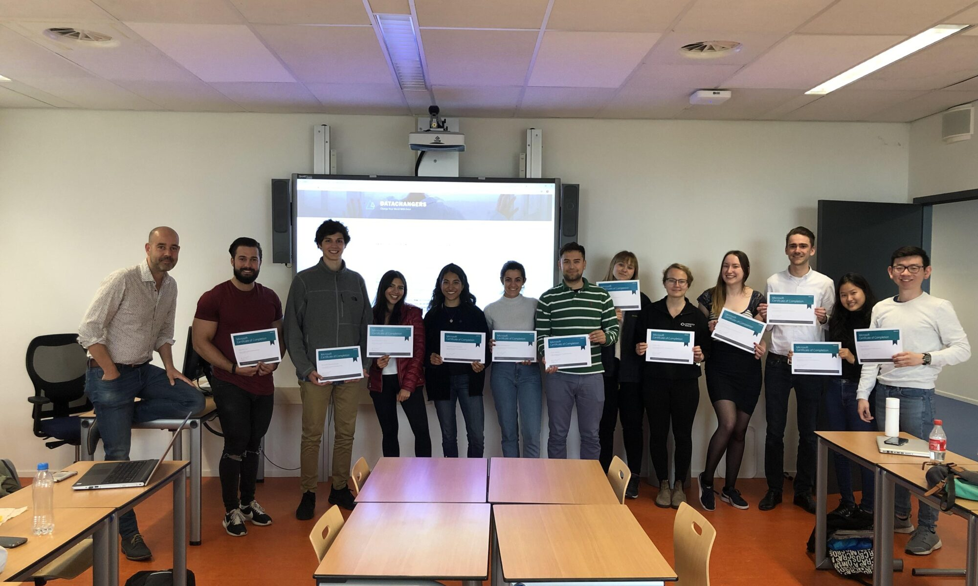 hogeschool rotterdam students introduction to data science course